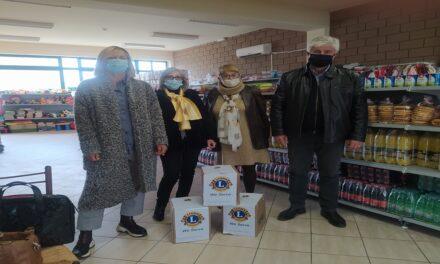 Δελτίο Τύπου Ο.Κ.Π.Α.Π.Α.: «Προσφορά από την Λέσχη Λάιονς Ιωαννίνων προς το Κοινωνικό Παντοπωλείο»